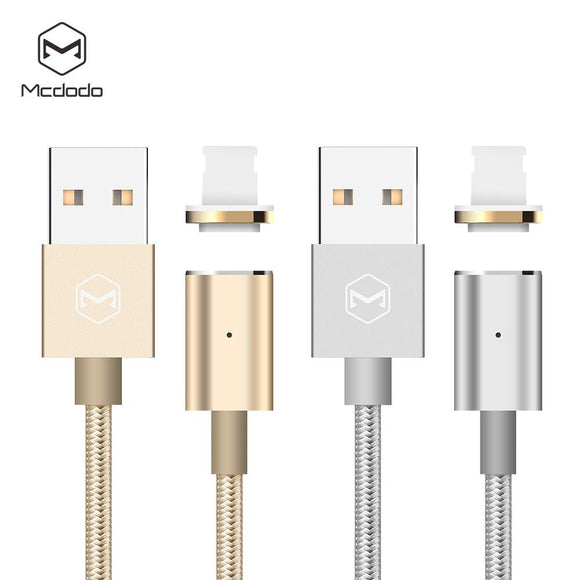 Mcdodo USB AM to Lightning Cable With LED indicator+Magnet