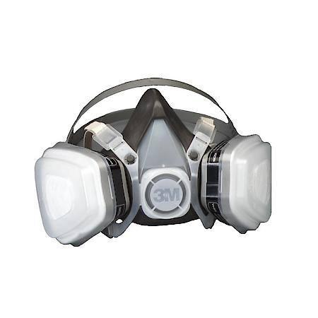 3M Dual Cartridge Respirator, Organic Vapor, Large, 07193 - Beauty Plaza