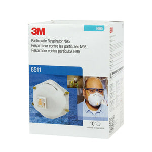 3M™ 8511 N95 Particulate Respirator Mask (Box of 10)