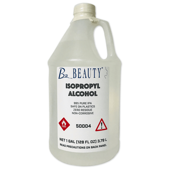 Beauty 99% Isopropyl Alcohol, 1 Gallon - Beauty Plaza