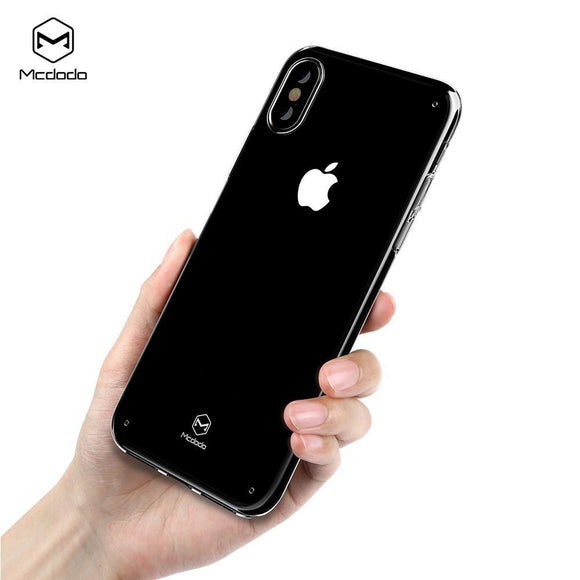 Mcdodo iPhoneX Super Vision Clear Case  (PC) - Beauty Plaza