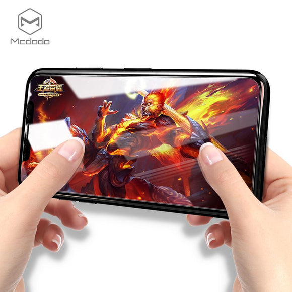 Mcdodo Screen Protector Tempered Glass for iPhone X 0.23mm - Beauty Plaza