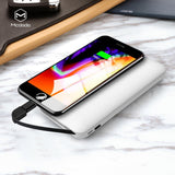 Mcdodo Carbon Fiber 10000mAh Power Bank, USB port with Micro USB cable