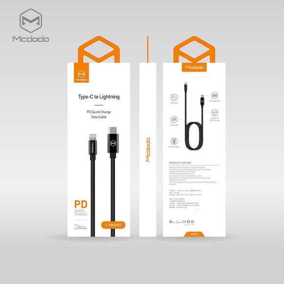 Knight/U+ Series Type-c to Lightning PD Cable