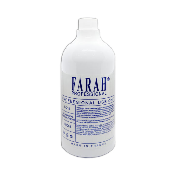 Farah BIO CHARCOAL MASSAGE CREAM F-219 (1000ml)