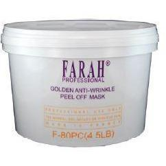Farah Golden Anti-Aging Peel Off Mask F-80PC (4.5LB) - Beauty Plaza