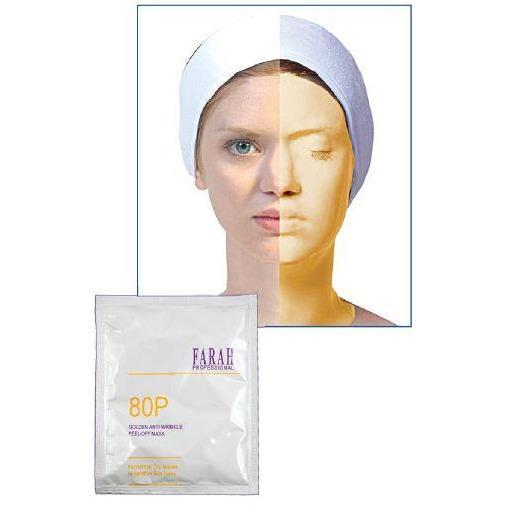 Farah Golden Anti-Aging Peel Off Mask F-80P (30g) - Beauty Plaza