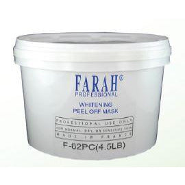 Farah Whitening Peel Off Mask F-82PC (4.5LBS)