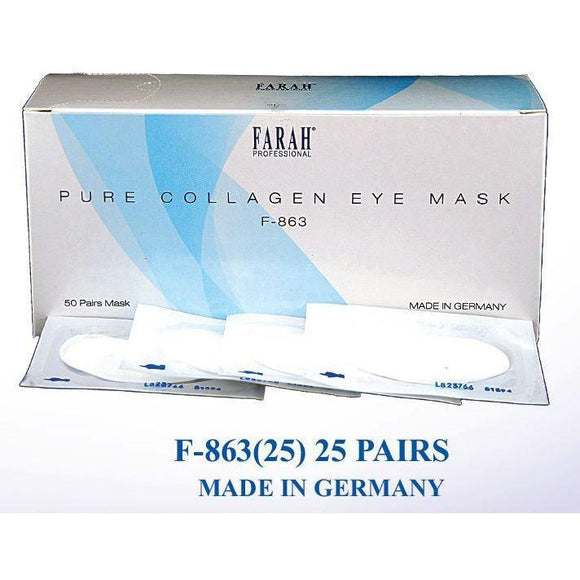 Farah Caviar Collagen Eye Masks F-863(50 Pairs) - Beauty Plaza