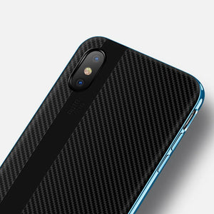 Carbon Fiber neo Hybrid Case for iPhone X - Beauty Plaza