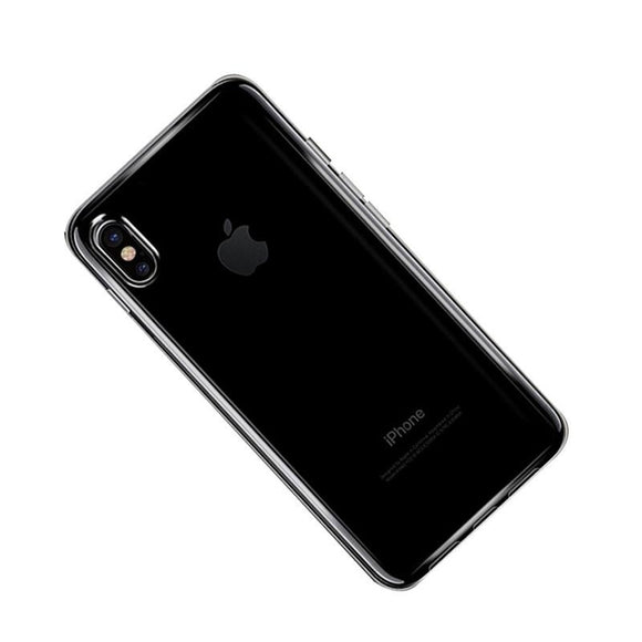 Transparent TPU Case for iPhone X - Beauty Plaza