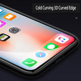 Fully Covered Tempered Glass Screen Protector for iPhone X - Beauty Plaza