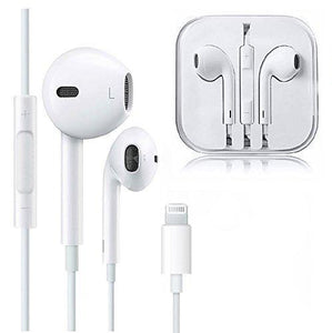 Earphones with Built-in Microphone and Lightning Connector
