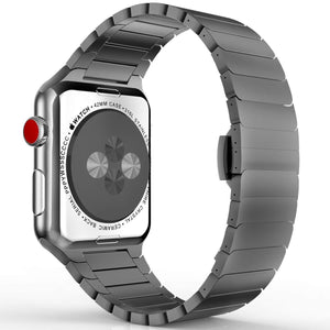 MoKo Stainless Steel Band Compatible with Apple Watch - Beauty Plaza
