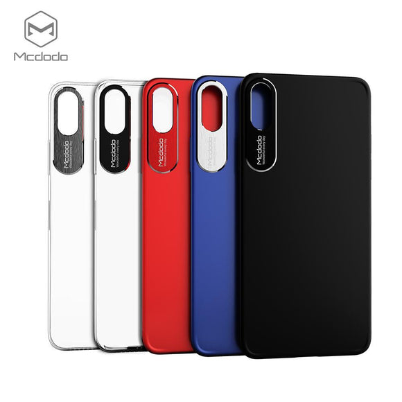 Mcdodo iPhoneX Sharp Aluminum Alloy Case (aluminum alloy+PC) - Beauty Plaza