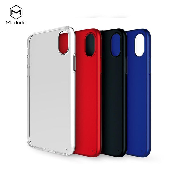 Mcdodo iPhoneX Super Vision Grip Case  (PC) - Beauty Plaza