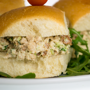 Vegan Chicken Sliders