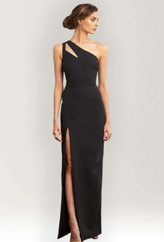 Christine One Shoulder Gown...