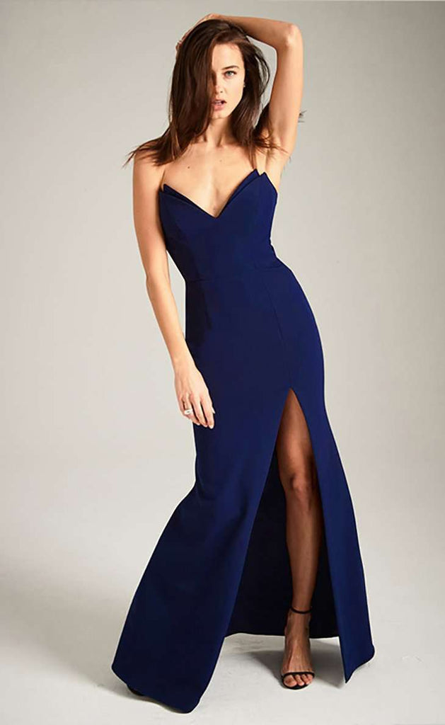 Rachel Gown with Slit