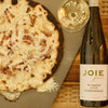 JoieFarm En Famille Reserve Riesling with wood fired pizza