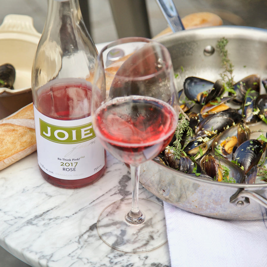 Bottle of JoieFarm Rosé 2017