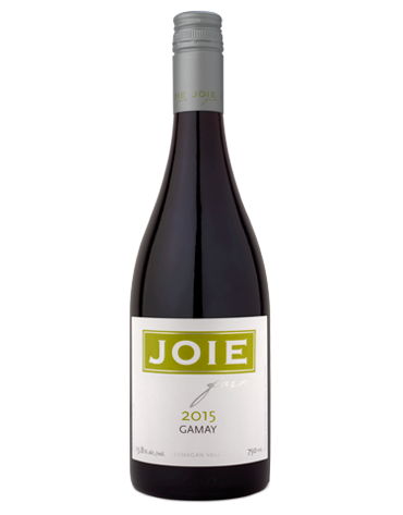 Bottle of JoieFarm Gamay 2015