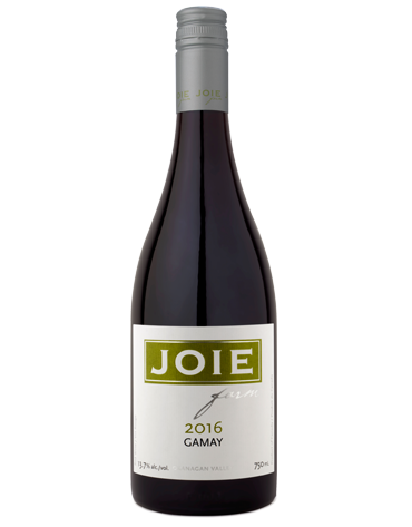 Bottle of JoieFarm Gamay 2016
