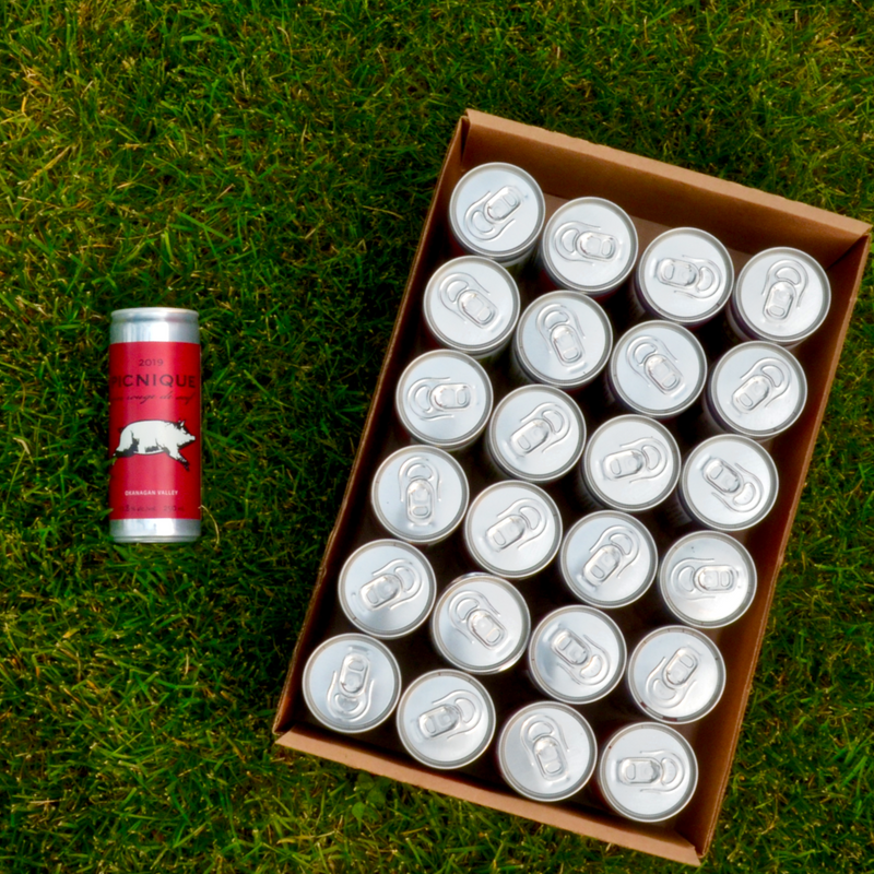 JoieFarm Picnique Rouge<br>Cans 24-Pack