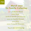 March 2021 'En Famille' Collection