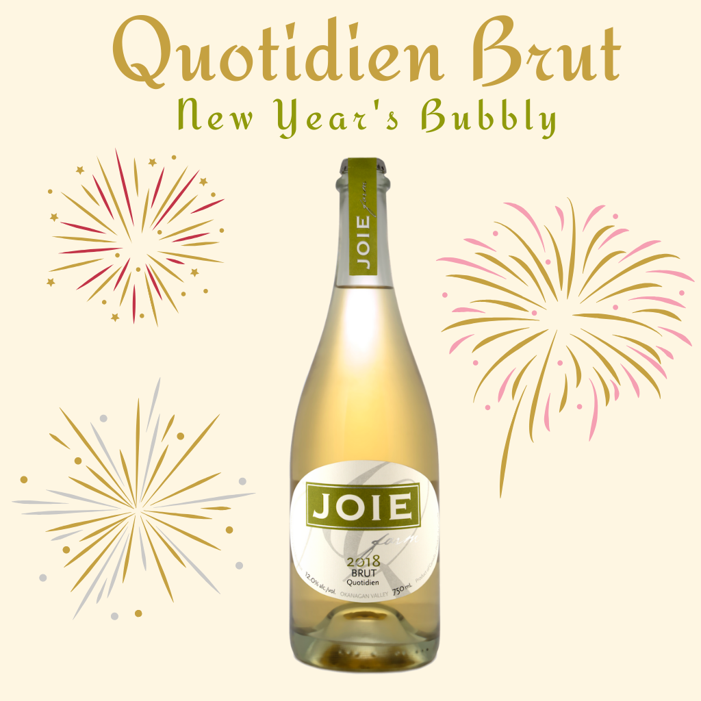 New Year's Bubbly - Quotidien Brut 2018