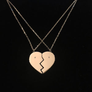 The Essential Bond Necklace - 2 Part 18K Plated Gold