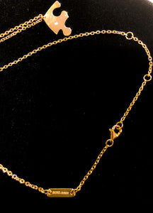 3 Part Essential Bond Necklace - 18K Gold Plated