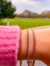 The Essential Pink Tennis Bracelet