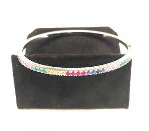 The Rainbow Bangle - Thick