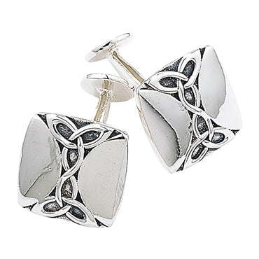 SILVER CELTIC CUFFLINKS - LIMITED EDITION
