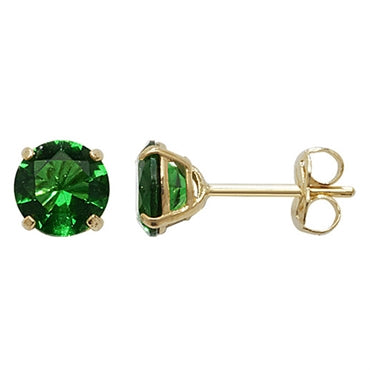 9CT GOLD BIRTHSTONE STUDS