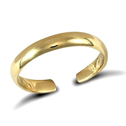9CT GOLD OPEN TOE RING