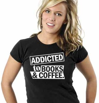 Addicted To Books & Coffee Short-Sleeve Unisex T-Shirt