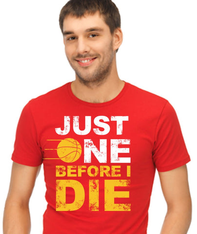 Just One Before I Die Unisex Short Sleeve T-Shirt