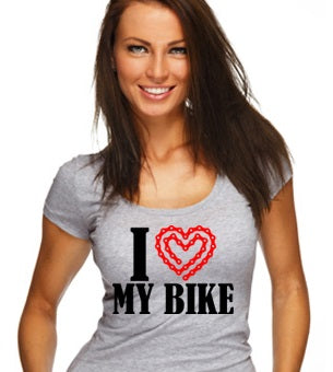 I Love My Bike Short-Sleeve Unisex T-Shirt