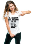 Be The Person Your Dog Thinks you Are Unisex Short Sleeve T-Shirt