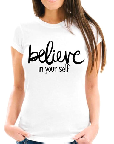 Believe In Yourself Short-Sleeve Unisex T-Shirt