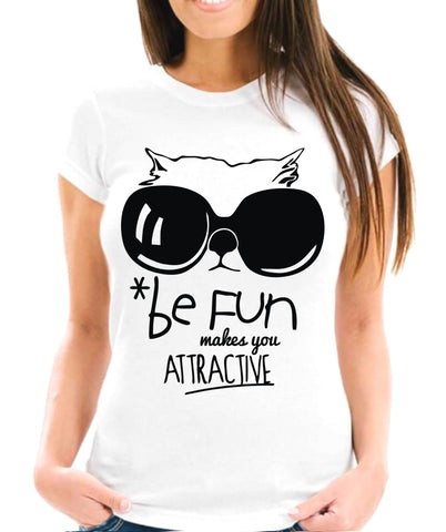 *Be Fun Makes You Attractive Short-Sleeve Unisex T-Shirt