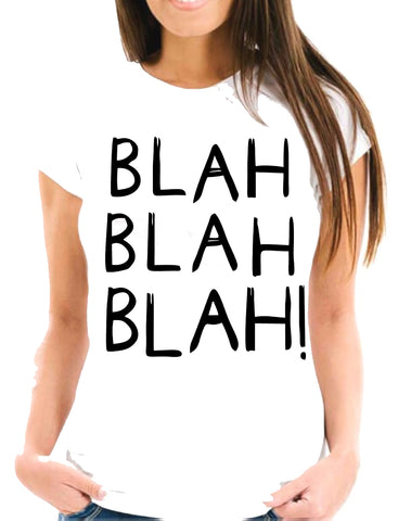 Blah Blah Blah Short-Sleeve T-Shirt