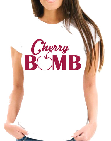 Cherry Bomb Short-Sleeve T-Shirt