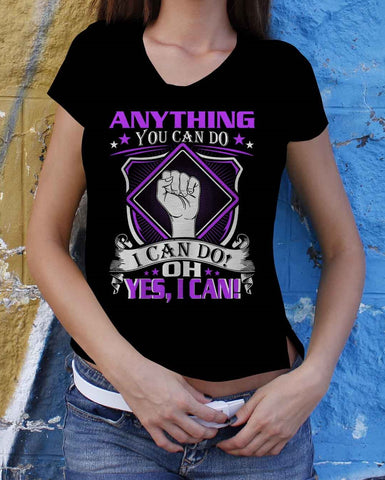 Anything You Can Do I Can Do Short-Sleeve Women T-Shirt