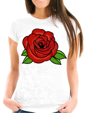 Red Rose One Short-Sleeve T-Shirt