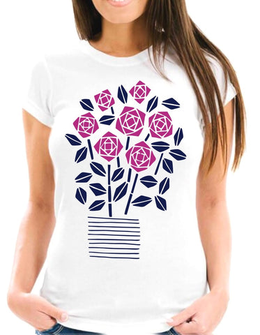 Flowers Short-Sleeve T-Shirt