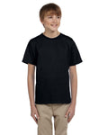 Custom Youth Black 100% Cotton T-Shirt