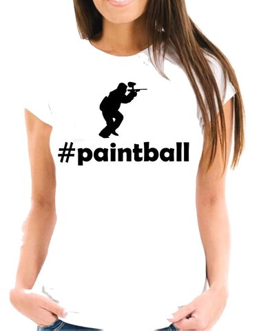 #paintball Short-Sleeve Unisex T-Shirt